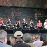 Farm Aid 2014 press conference. Photo: Frank Whatley
