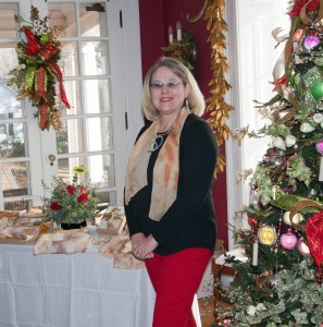 Dawn Lancaster at the FCAC Christmas at Home Show