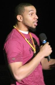 Kason Cheeks Spoken Word Artist. Source: Louis Thomas III.