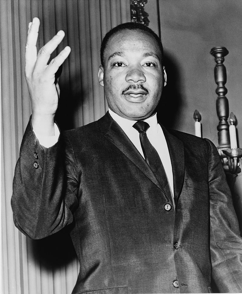 Martin Luther King Jr NYWTS by Dick DeMarsico, World Telegram staff photographer, Library of Congress, New York World-Telegram & Sun Collection. Source: Wikipedia.org.