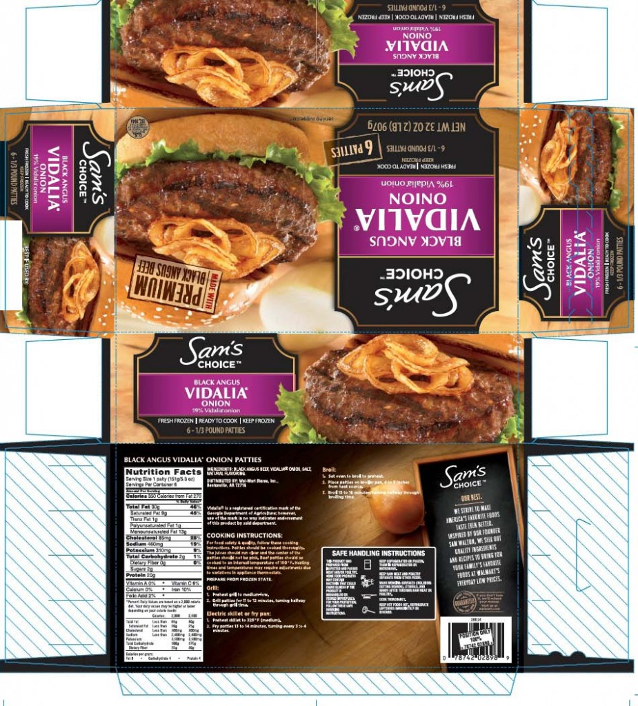FSIS Black Angus Carton Label provided with Recall Notice: Source: FSIS.