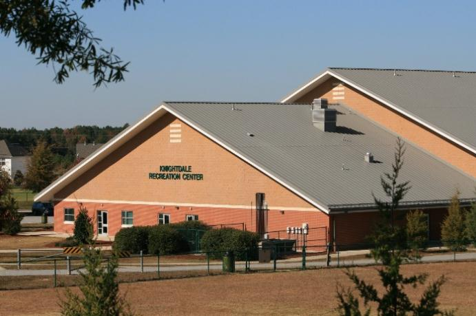 Knightdale Recreation Center. Source: Town of Knightdale NC.