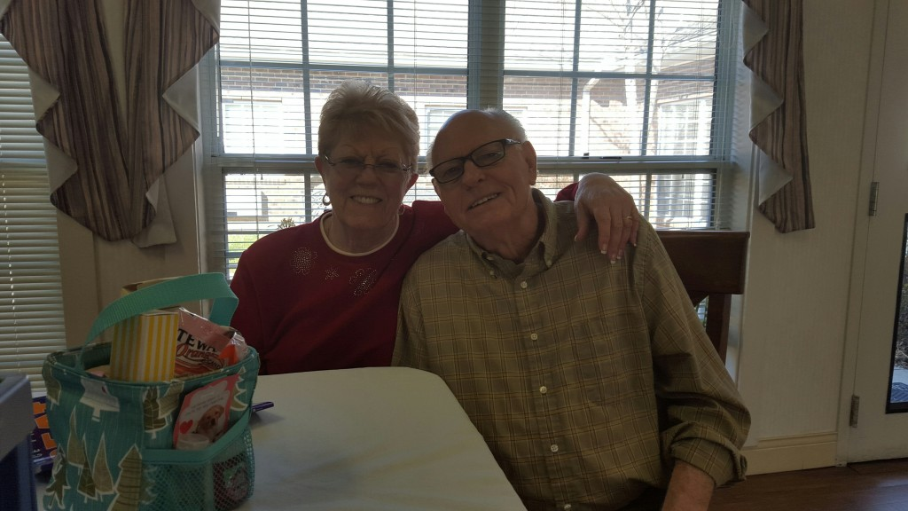 Pat and Jerry at the Zebulon House Valentine event. Photo: Susan Aceti