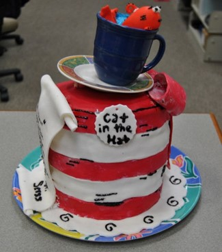 An edible book example. Source: Braswell Memorial Library, Rocky Mount NC.