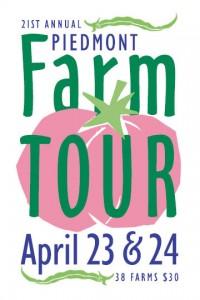 NC Piedmont Farm Tour 2016 logo. Source: Carolina Farm Stewardship Association, NC.