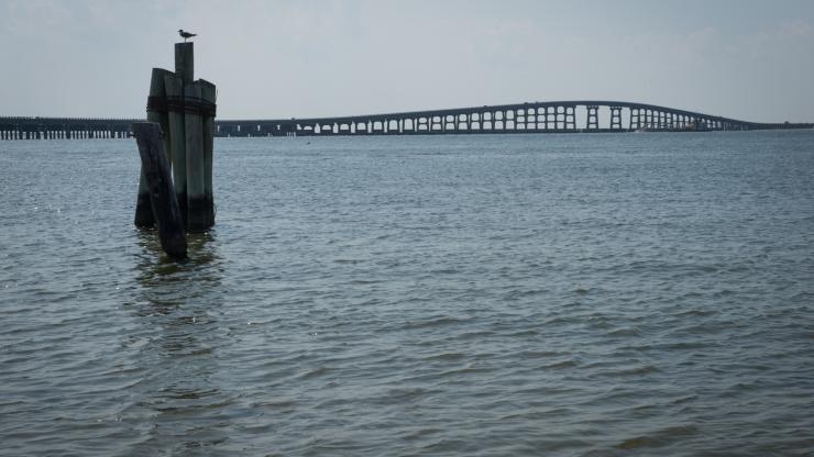 Bonner Bridge over Oregon Inlet. Source: Office of the Governor, Raleigh NC.