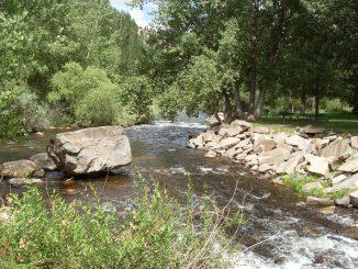 Photo of Big Thompson River, Viestenz Smith Park. Source: Trout Unlimited, Denver CO.