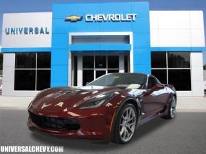 NEW 2016 Corvette Coupe Z06 3LZ. Photo: Universal Chevrolet, Wendell NC.