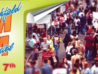 Smithfield NC Ham And Yam Festival flyer.