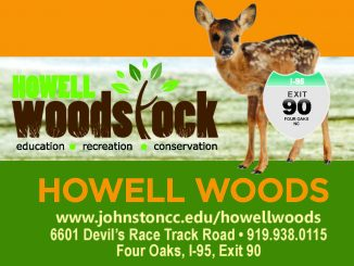 Howell Woods Woodstock 2016 event flyer. Edited from Johnston Community College NC flyer.