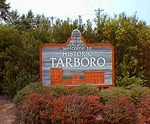 Tarboro NC is in Edgecombe County. Source: www.edgecombecountync.gov.