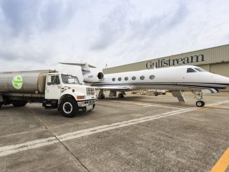 Gulfstream Flies G450 And G550 To EBACE On Renewable Fuels_G450. Source: Gulfstream Aerospace Corp., Savannah GA.