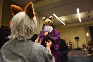 Another marriage proposal at the 2016 Animazement in Raleigh NC. Photo: Mitch Amiano.