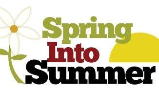 Spring into Summer Gardening Symposium logo. Source: Wilson County Coop Extension Service, Wilson NC.