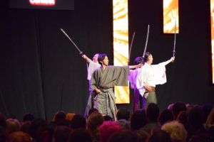 Sword performance at the 2016 Animazement in Raleigh NC. Photo: Mitch Amiano.