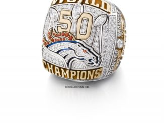Denver Broncos 2015 Super Bowl 50 Championship Ring (PRNewsFoto/Newell Brands).