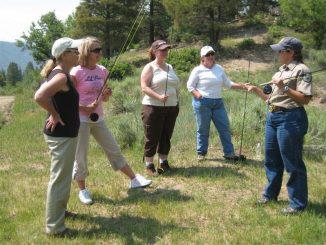 An outdoor skills event for women only, sponsored by Colorado Parks and Wildlife, will be held July 15-17 in western Colorado. Source: Colorado Parks and Wildlife.