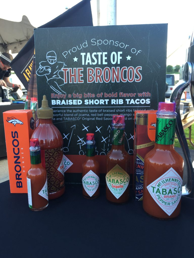 Taste of the Broncos, 2016, at Sports Authority Field, Denver CO. Photo: Jason Hernandez.