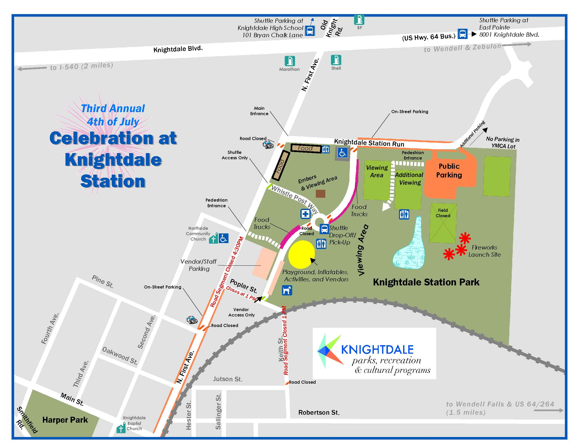 knightdale nc holding third annual celebration july 4th