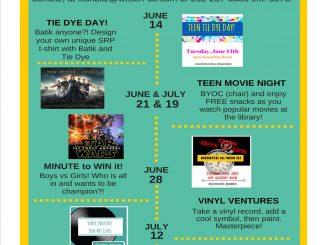 Teen Summer Reading Program. Source: Maegen Wilson, Wilson County Public Library, Wilson NC.