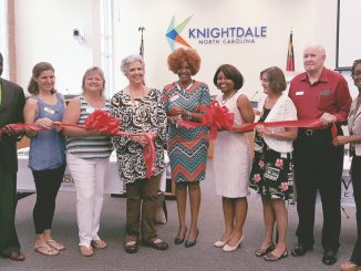 Red Ribbon showcase, August 2016. Source: Knightdale Chamber of Commerce, Knightdale NC.