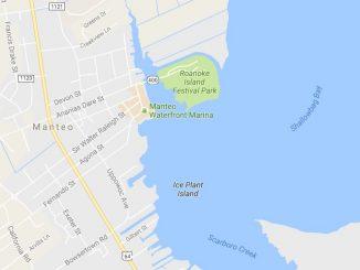 Bluegrass Island Festival location at Roanoke Island Festival Park, Manteo NC. Source: Google Maps.