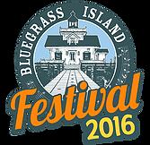 Bluegrass Island Festival 2016 logo. Source: www.bluegrassisland.com.