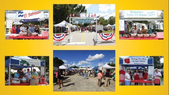 International Food and Music Festival 2016, Wendell NC.