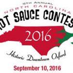 Oxford NC Hot Sauce Contest 2016 logo