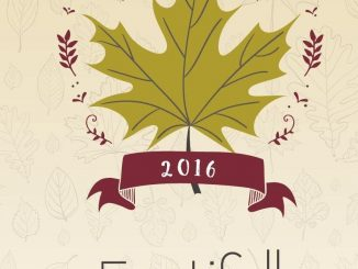 Chapel Hill NC's 2016 Festifall logo