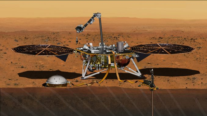 NASA has set a new launch opportunity, beginning May 5, 2018, for the InSight mission to Mars. InSight is the first mission dedicated to investigating the deep interior of Mars. Image: NASA/JPL-Caltech.