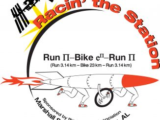 Racin' the Station duathlon is September 24, 2016, at the NASA Marshall Space Flight Center, Huntsville, Alabama.