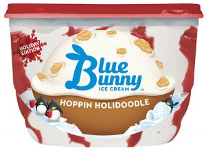 Blue Bunny label released with FDA recall notice.
