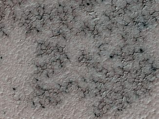 spidery channels on Mars. Image: NASA/JPL-Caltech/Univ. of Arizona.