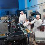 Glenn scientists test Saffire components. Credit: NASA.