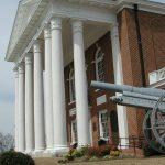 Nash County Courthouse front, Nashville, North Carolina.
