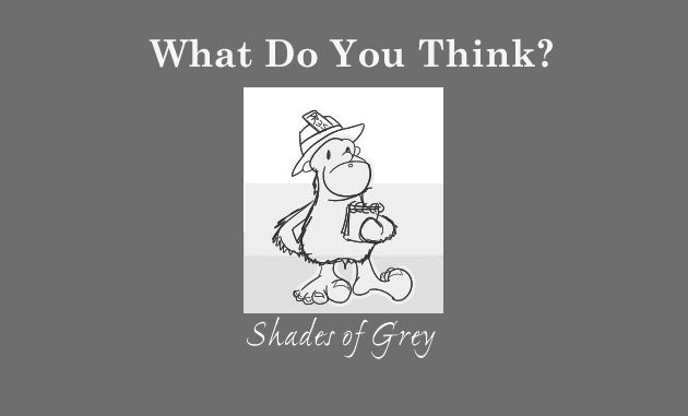 The Grey Area News reporter in Shades of Grey