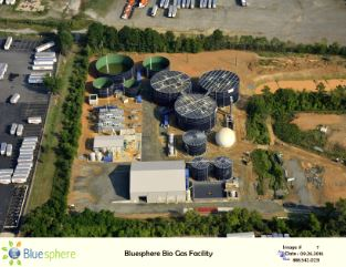 Charlotte NC facility. Source: Blue Sphere Corporation.