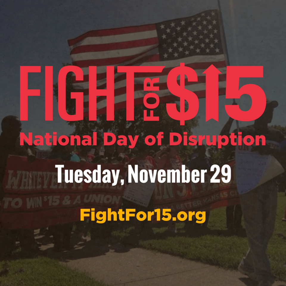 Photo: Fight for $15.