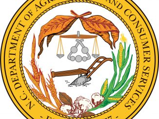North Carolina Department of Agriculture and Consumer Services seal.