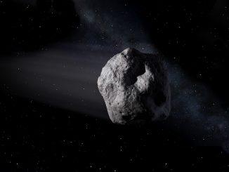 Artist's concept of a near-Earth object. Credit: NASA/JPL-Caltech.
