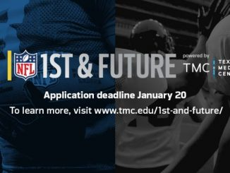 1st and Future NFL start-up competition. Source: Texas Medical Center.