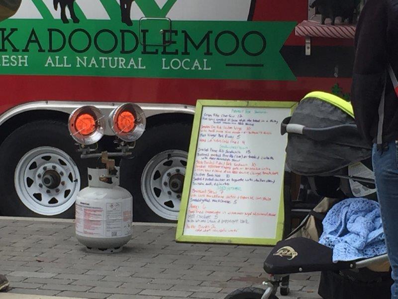 Cockadoodlemoo Food Truck Menu