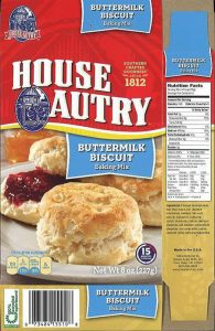 House of Autry recall affects several mixes. Source: US FDA.