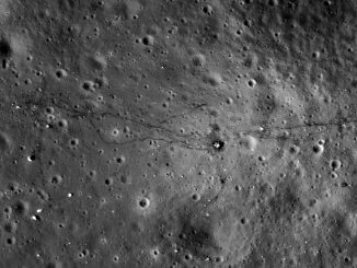 2011 view of Apollo 17 landing site, captured by NASA's Lunar Reconnaissance Orbiter. Credits: NASA's Goddard Space Flight Center/Arizona State University.