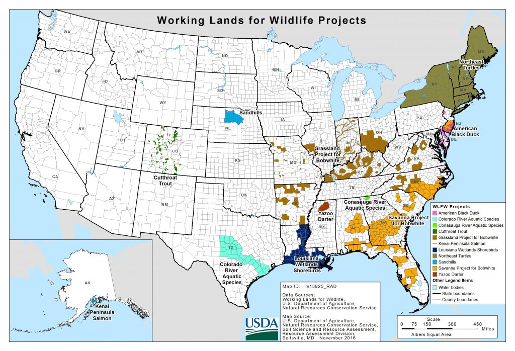 Source: USDA's Natural Resources Conservation Service.