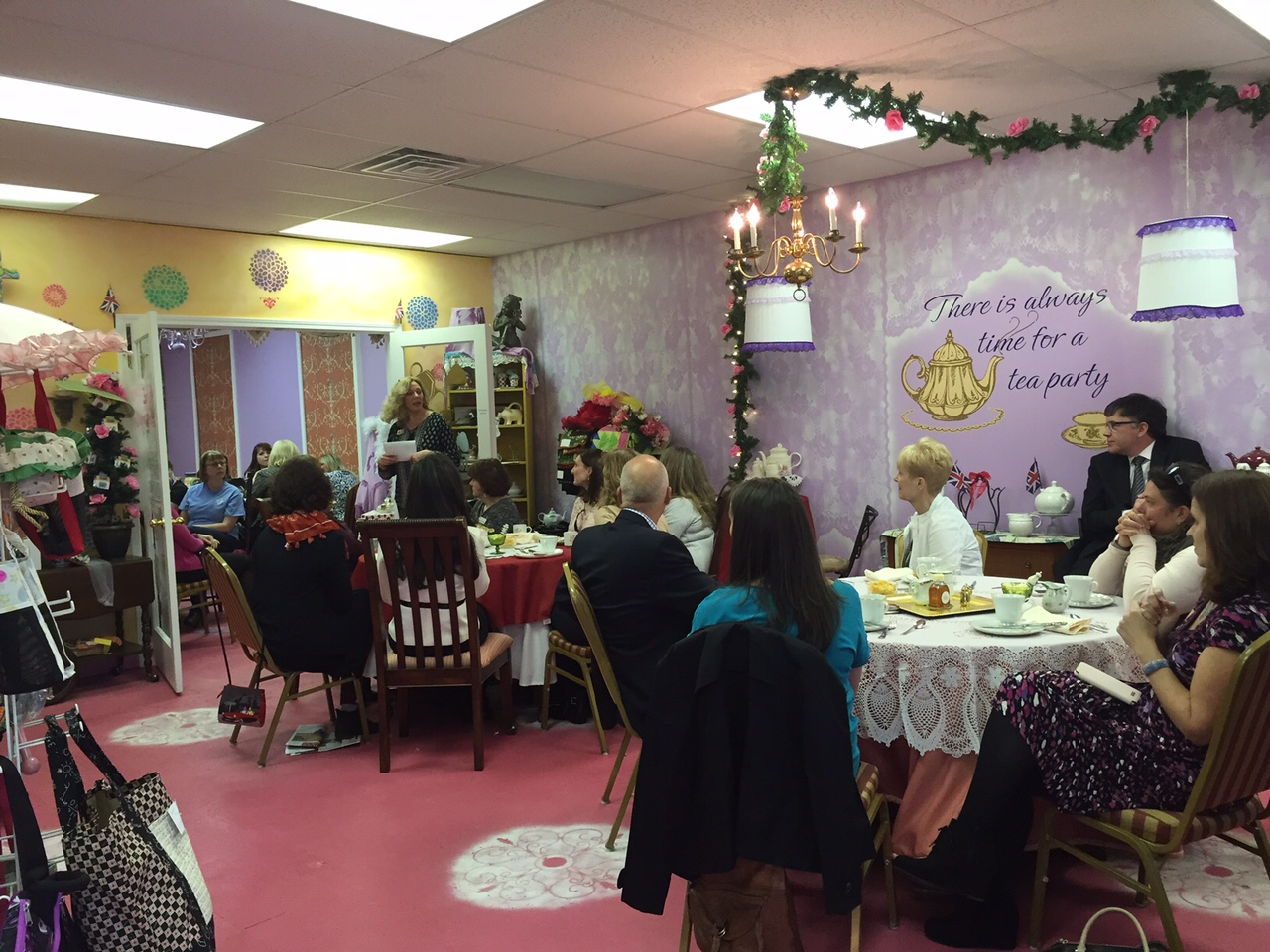 Raleigh Tea Room Hosts British Consulate S High Tea The