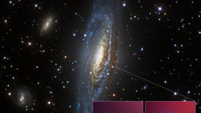 Supernova SN 2014C (Optical and X-Ray). Source: NASA JPL.