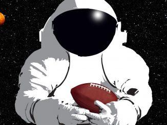 Houston, we have a football. Source: NASA.