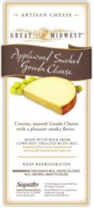 Gouda cheese label, one of several affected by recall. Source: US FDA.